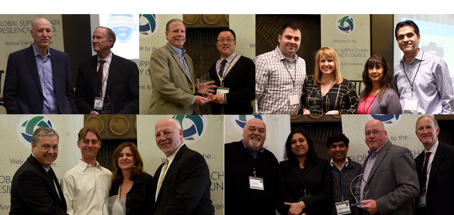 2016 Supply Chain Risk Management Excellence Award Winners Amgen, HGST, Juniper Networks, Palo Alto Networks, Yossi Sheffi MIT